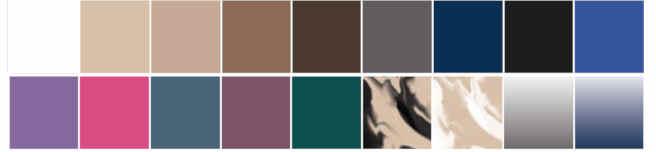 Resultado de imagen de juzo inspiration colores 2020